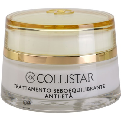 Collistar Special Combination And Oily Skins creme rejuvenescedor para regulação do sebo cutâneo
