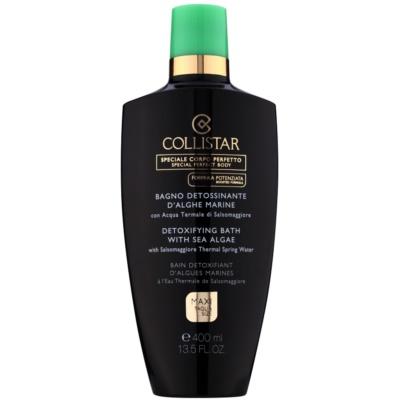 Collistar Special Perfect Body olio da bagno detossinante  con estratti di alghe marine