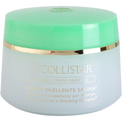 Collistar Special Perfect Body Afslank Bodycrème met Zeezout