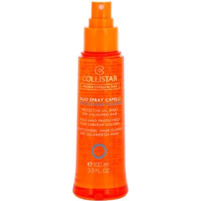 aceite de protección solar para cabello para cabello teñido