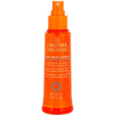 ochranný olej na vlasy proti slunečnímu záření pro barvené vlasy