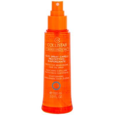 wasserfestes schützendes Haaröl gegen UV-Strahlung