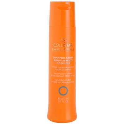 krémový šampon po opalování