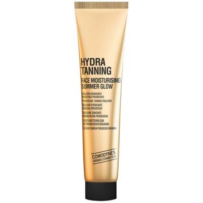 Comodynes Hydra Tanning émulsion hydratante visage pour un bronzage progressif