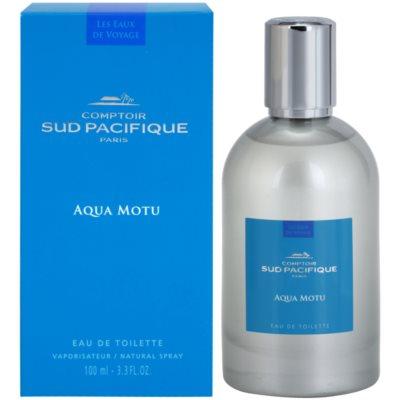 Comptoir Sud Pacifique Aqua Motu Eau de Toilette voor Vrouwen