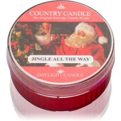 Country Candle Jingle All The Way Tealight Candle
