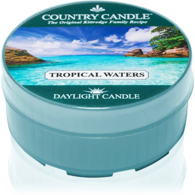 Country Candle Tropical Waters vela do chá