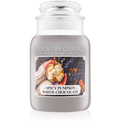 Country Candle Spicy Pumpkin White Chocolate