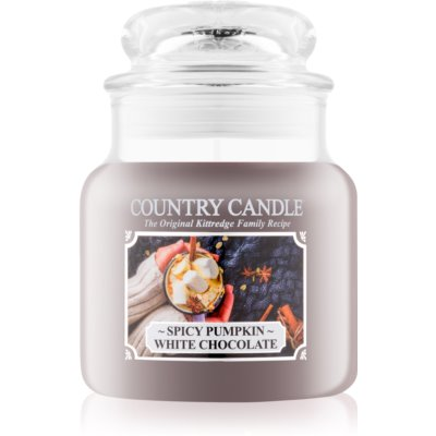 Country Candle Spicy Pumpkin White Chocolate bougie parfumée