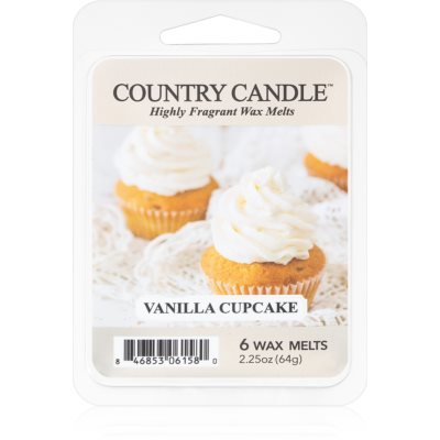 Country Candle Vanilla Cupcake tartelette en cire