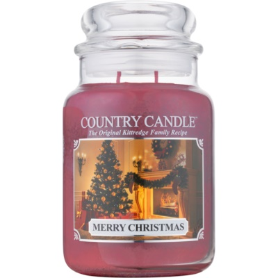 Country Candle Merry Christmas candela profumata