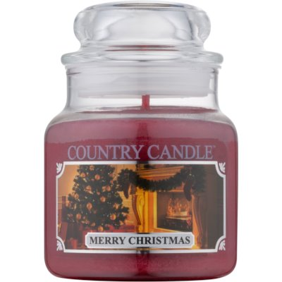 Country Candle Merry Christmas Αρωματικό κερί