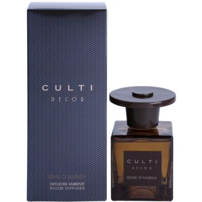 Culti Decor aroma difuzor s polnilom  srednji paket (Sensi d´Ambra)