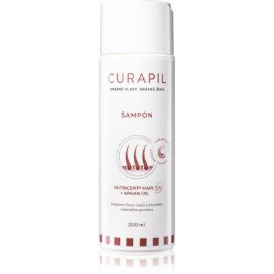 Curapil Hair Care aktivačný šampón pre podporu rastu vlasov
