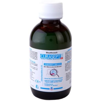 Curaprox Curasept ADS 212 antibakteriális szájvíz ínygyulladás és fogágybetegségek ellen