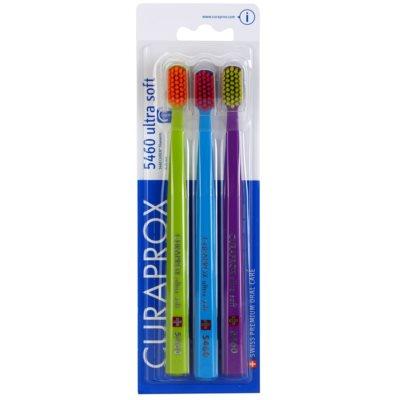 Curaprox 5460 Ultra Soft zubní kartáčky 3 ks