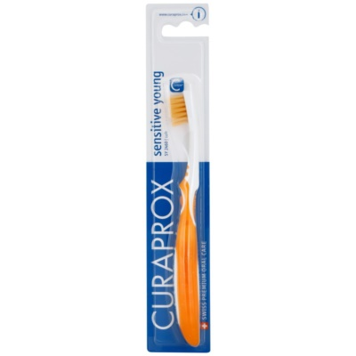 Curaprox Sensitive Young cepillo de dientes para niños  suave
