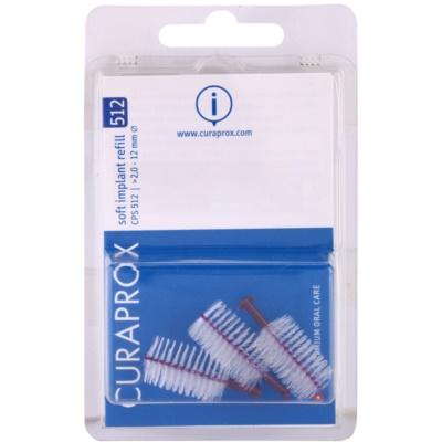 escovas interdentais de reposição para implantes 3 unid.