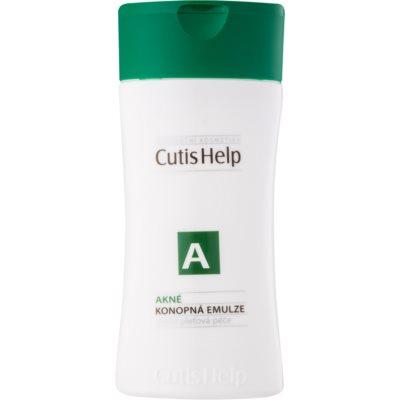 konopná čisticí emulze pro problematickou pleť, akné