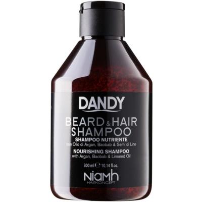 DANDY Beard & Hair Shampoo shampoing cheveux et barbe