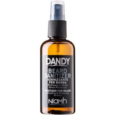 DANDY Beard Sanitizer απολυμαντικό σπρέι χωρίς ξέβγαλμα για προστασία των γενιών