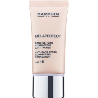 korekčný make-up proti tmavým škvrnám SPF 15