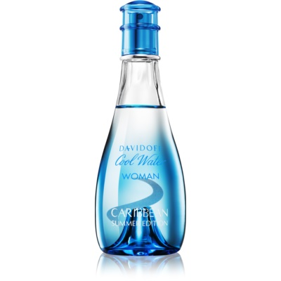 Davidoff Cool Water Woman Caribbean Summer Edition eau de toilette para mulheres