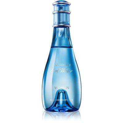Davidoff Cool Water Woman deodorant s rozprašovačem pro ženy