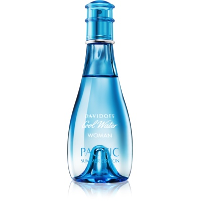 Davidoff Cool Water Woman Pacific Summer Edition Eau de Toilette voor Vrouwen