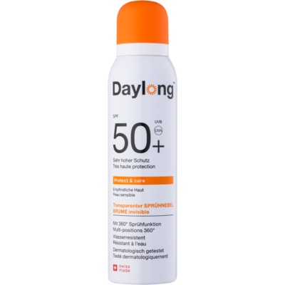 Daylong Protect & Care spray solar transparente SPF 50+