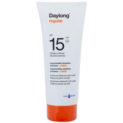 Daylong Regular lipozomálne ochranné mlieko SPF 15