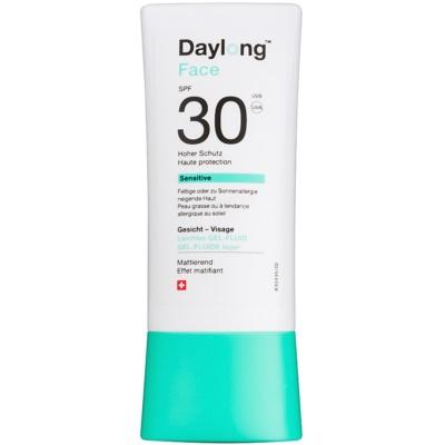 ochranný gel-fluid na obličej SPF 30
