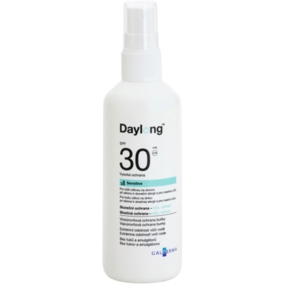 Protective Spray-On Gel for Sensitive Oily Skin SPF 30