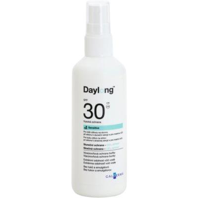 Beschermende Gel Spray voor Vette en Gevoelige Huid  SPF 30