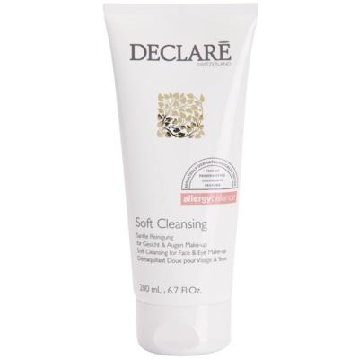 gel limpiador suave para rostro y ojos
