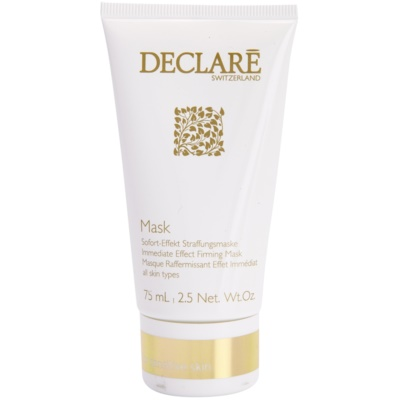 Firming Face Mask With Immediate Effect