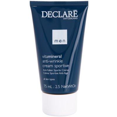 Anti-Wrinkle Cream For Sportsmen