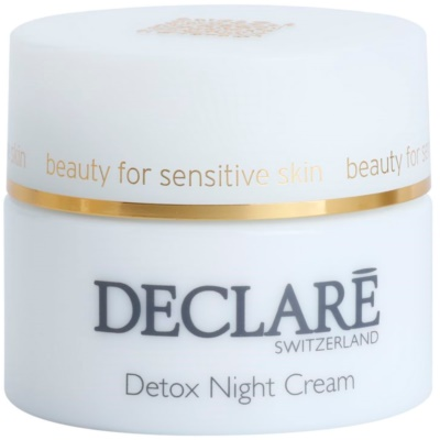 Detoxifying Night Cream