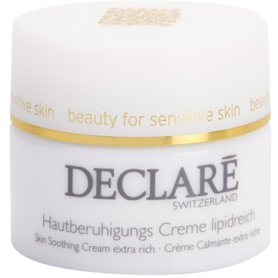 Soothing And Nourishing Cream For Dry And Damaged Skin