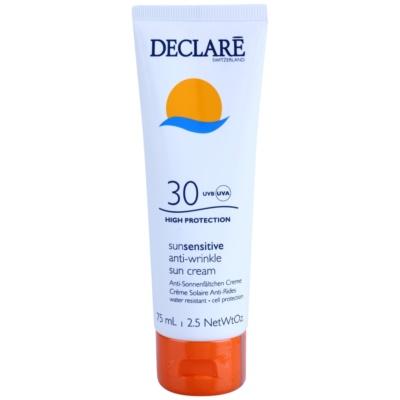 Bőr öregedés elleni napkrém SPF 30