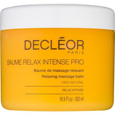 relaxačný masážny balzam s esenciálnymi olejmi