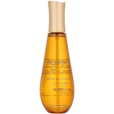 száraz tápláló olaj arcra, testre és hajra