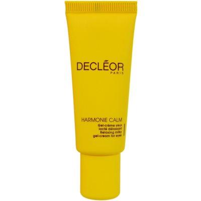Decléor Harmonie Calm gel krema za područje oko očiju protiv oticanja i tamnih krugova