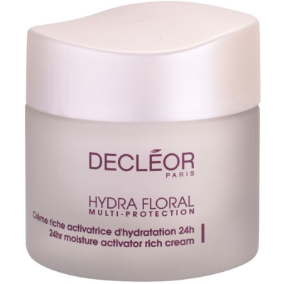 Decléor Hydra Floral Rich Hydrating Cream For Normal And Dry Skin