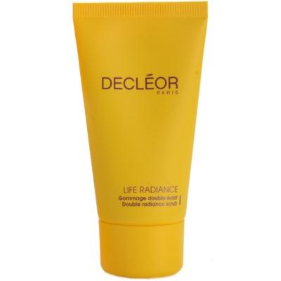 Decléor Life Radiance gommage pour une peau lumineuse