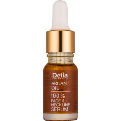 Delia Cosmetics Professional Face Care Argan Oil intensywne serum regenerujące i odmładzające z olejkiem arganowym do twarzy, szyi i dekoltu