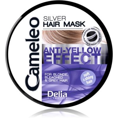 maska na vlasy neutralizující žluté tóny