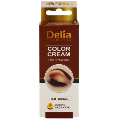 Delia Cosmetics Argan Oil tinta per sopracciglia