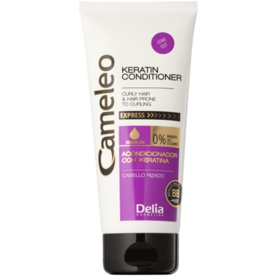 кератиновий кондиціонер для кучерявого волосся