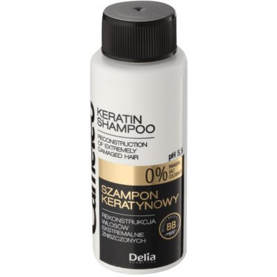 Shampoo  mit Keratin für beschädigtes Haar